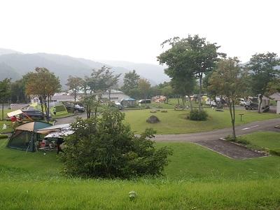 月山弓張平・オートキャンプ場