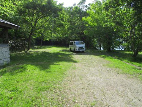 沼沢湖 オートキャンプ場